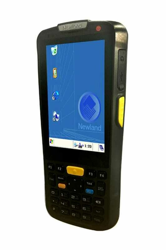Терминал сбора данных Newland PT6050-3K-C Narvalo, 3.7   Touchscreen with 1D CCD engine and WiFi module (OS Win CE 6.0). Incl. USB cable, battery, charging & communication cradle