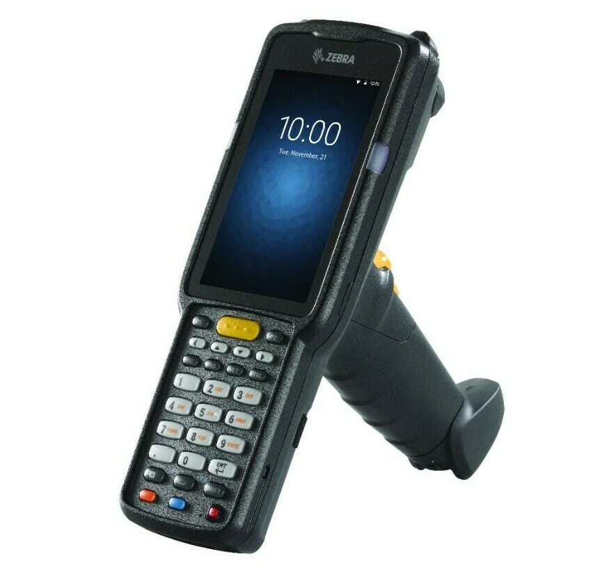 Терминал сбора данных Zebra MC330M-GI3HA2RW, 2D SE4750; WiFi, Bluetooth, Android 7.0, пистолетная рукоятка, батарея 5200 мАч, 38 клавиш