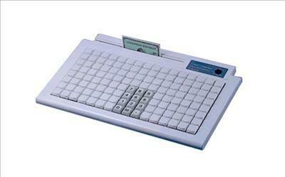 Программируемая клавиатура KB982,128 клавиш, сч-ль маг. карт