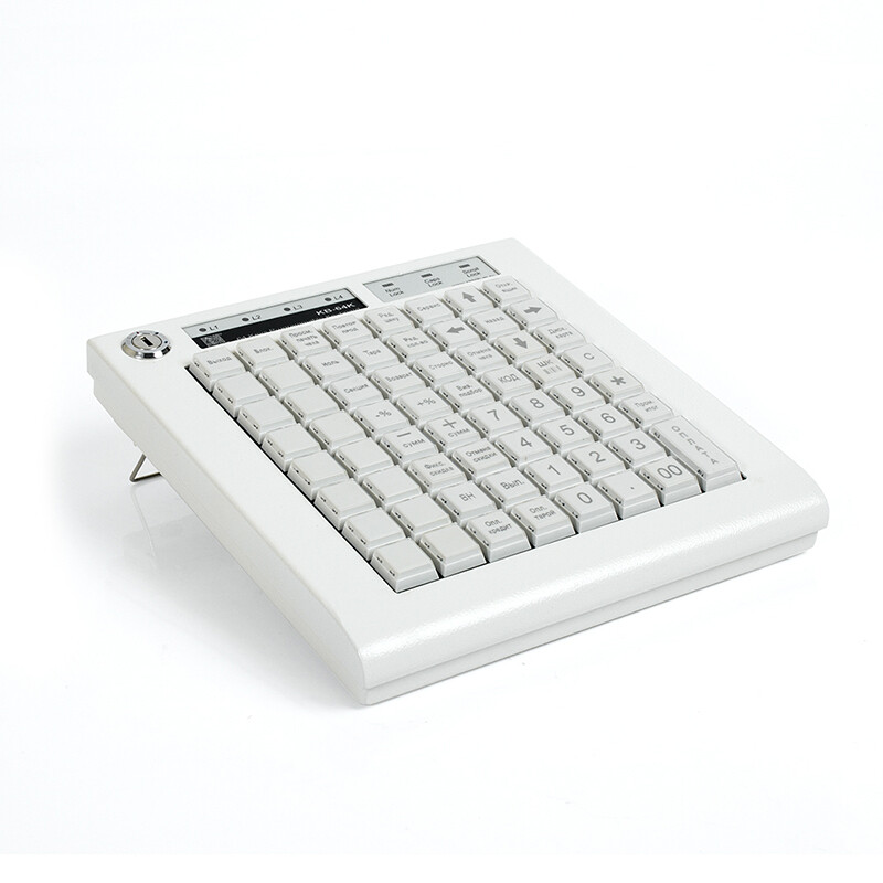 Программируемая клавиатура KB-64K, 64 клавиши, бежевая(пр-во ШТРИХ-М)