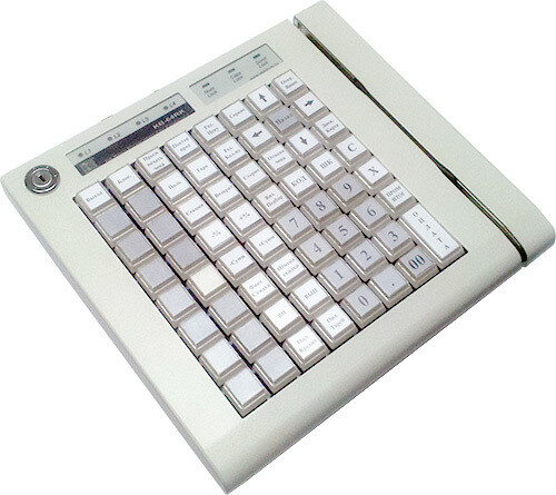 Программ. клавиатура ШТРИХ-KB-64RK ридер МК