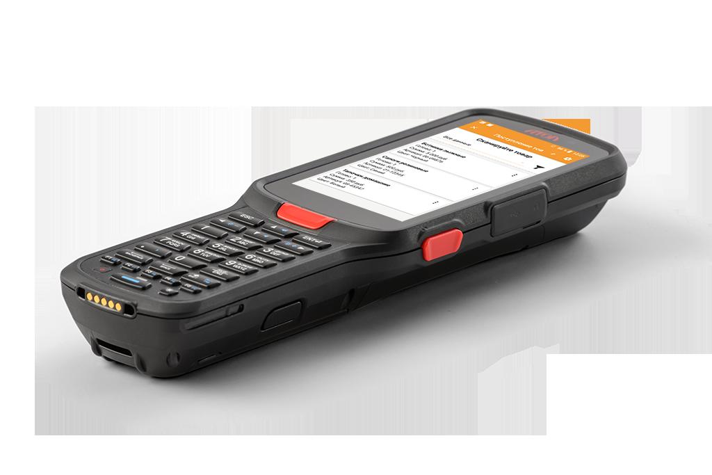 """Мобильный терминал АТОЛ Smart.Pro базовый (Android 9.0,2D Imager SE4750, 4,5"""", 3х32Гб, Wi-Fi, БП) + ПО DataMobile Online + Маркировка"""