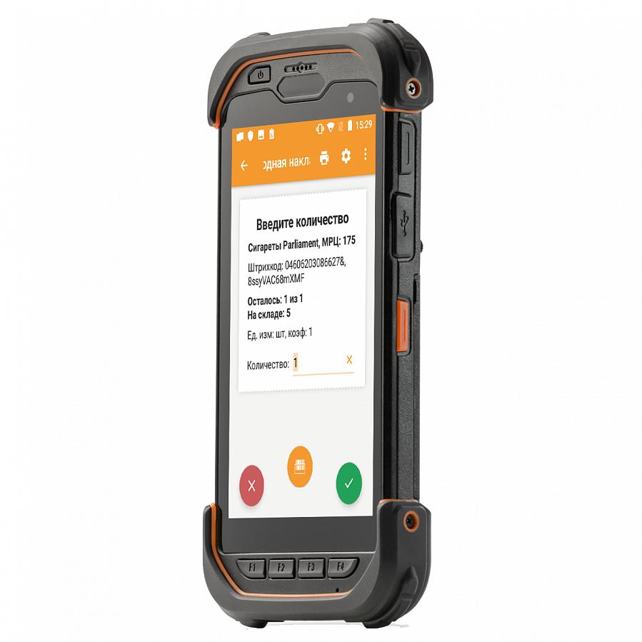 "Мобильный терминал АТОЛ Smart.Touch (Android 7.0, 2D SE4710 Imager,5.5"",2Гбх16Гб, IP67, Wi-Fi a/b/g/n/ac, LTE, 8MP Camera, NFC,Bluetooth 4.1, 5000mAh)"