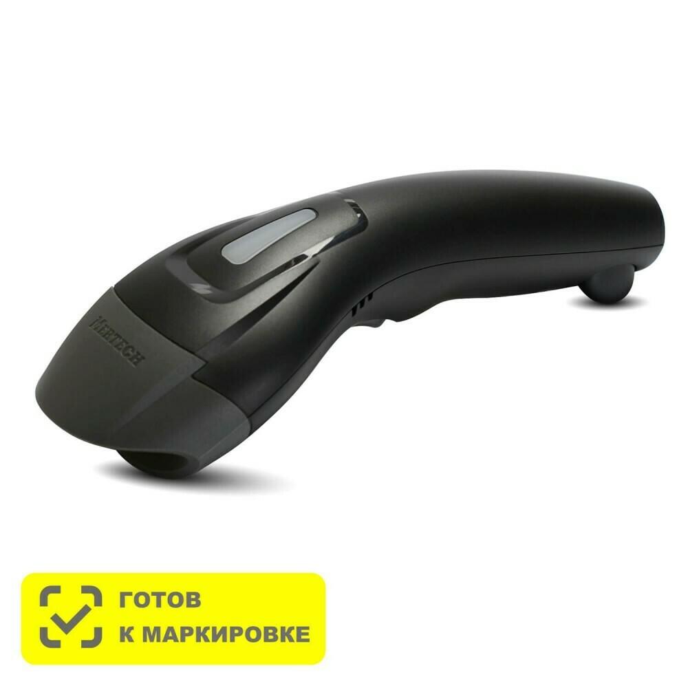 Сканер штрихкодов Mertech 600 P2D SuperLead чёрный USB