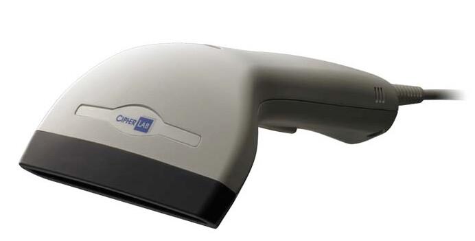 CipherLAB 1090+, контактный линейный счит-ль штрихкода (1D), мультиинтерфейс, (без кабеля), ширина 90 мм