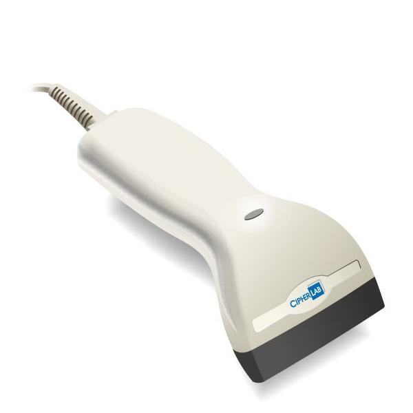 GlobalPOS GP3200, двумерный (2D) ручной сканер, USB HID/VC, черный, в комплекте с USB кабелем