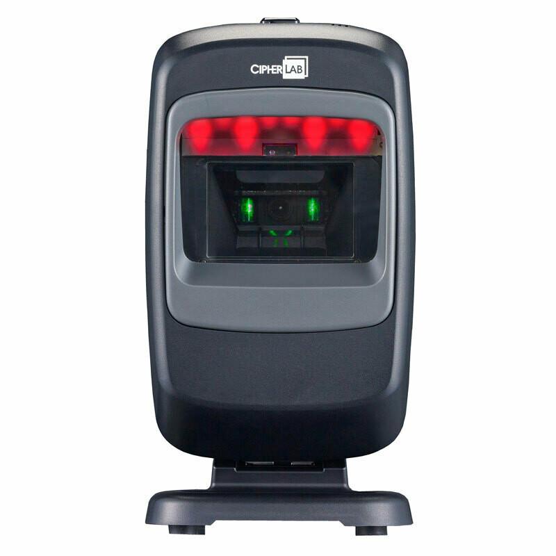 Cipher 2210-USB, настольный сканер 2D-штрихкодов с деактиватором EAS, кабель USB, черный