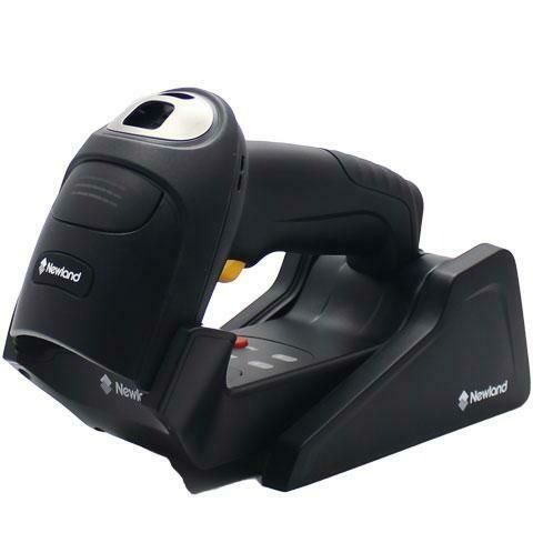 Newland HR5280-BT (Bonito), двумерный (2D) ручной сканер, Bluetooth, USB, черный, в комплекте с USB кабелем (2м) и подставкой-базой