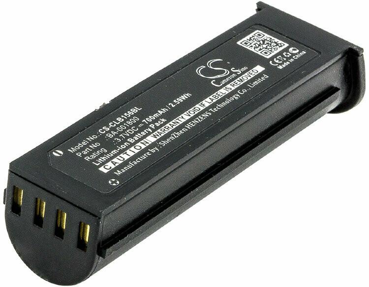 156x Battery, Дополнительная аккумуляторная батарея к 156x, 3.7 Вольт, 800 мАч