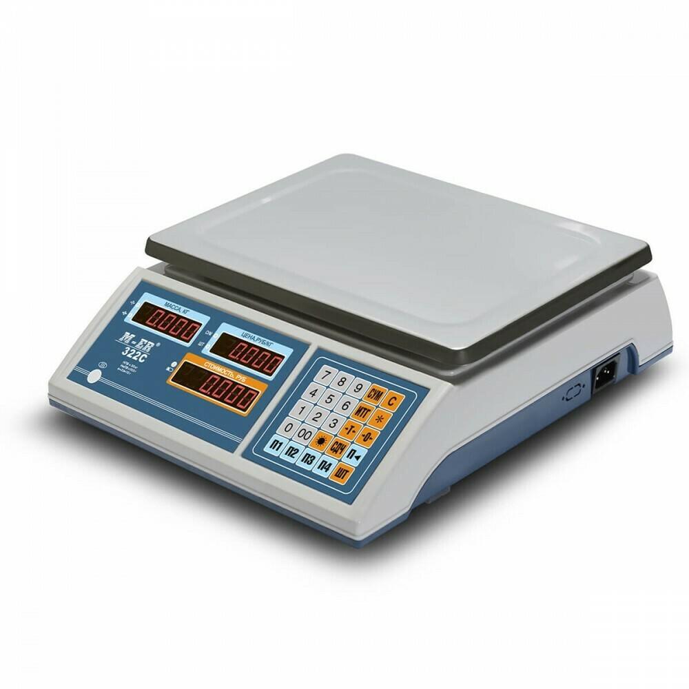 Весы Mertech M-ER 322 AC-15.2  Ibby  LCD