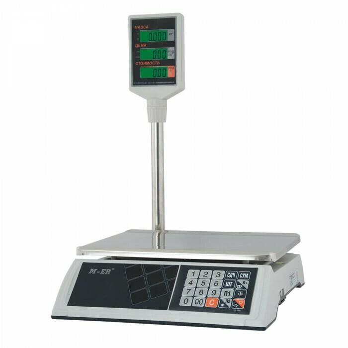 Весы Mertech M-ER 327 ACP-15.2  Ceed  LCD Белые