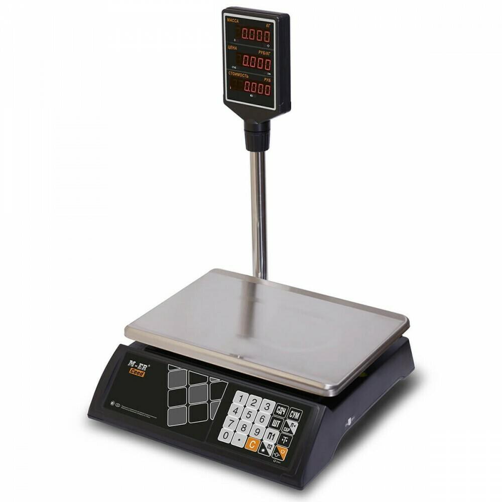 Весы Mertech M-ER 327 ACP-15.2  Ceed  LED Черные