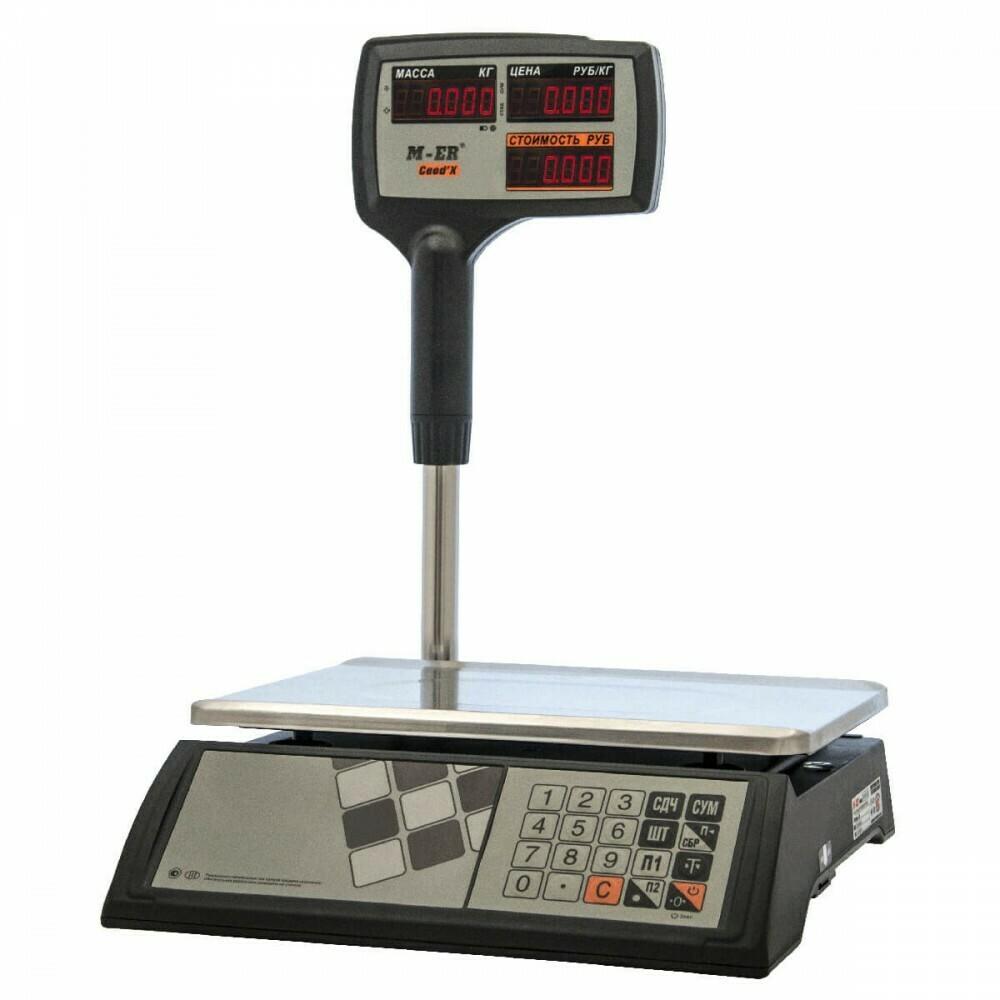 Весы Mertech M-ER 327 ACPX-15.2  Ceed'X  LED Черные