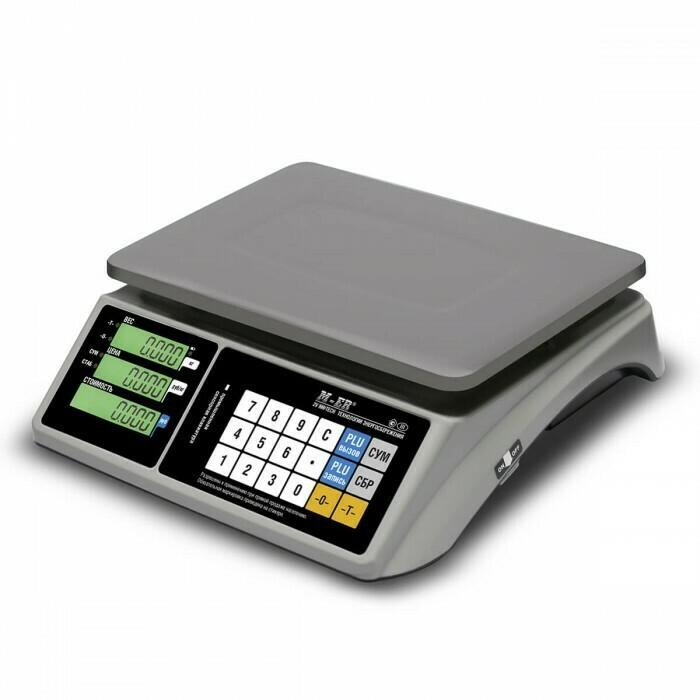 Весы Mertech M-ER 328 AC-32.5  TOUCH-M  LED RS232 и USB