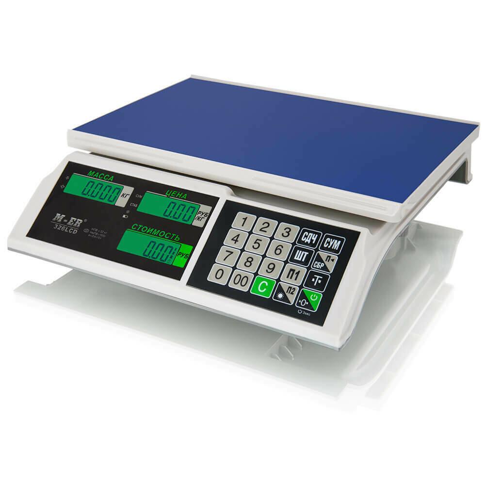 Весы Mertech M-ER 326 AC-32.5  Slim  LED Белые