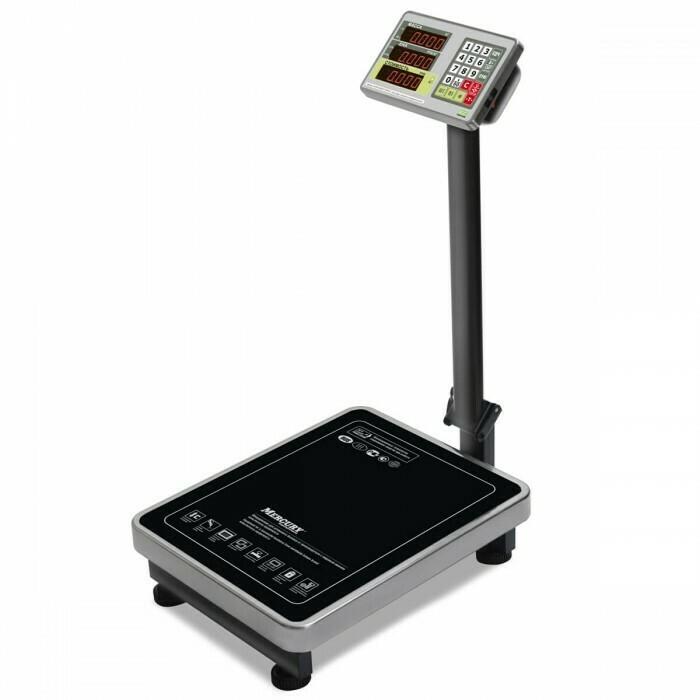 Весы Mertech M-ER 335 ACLP-150.20  TURTLE  с расчетом стоимости товара LCD