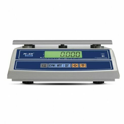 Весы Mertech M-ER 326 AF-15.2  Cube  LCD USB