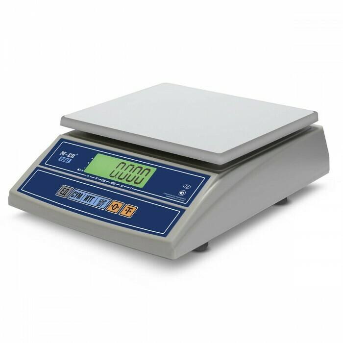 Весы Mertech M-ER 326 AFL-32.5  Cube  c RS-232 LCD