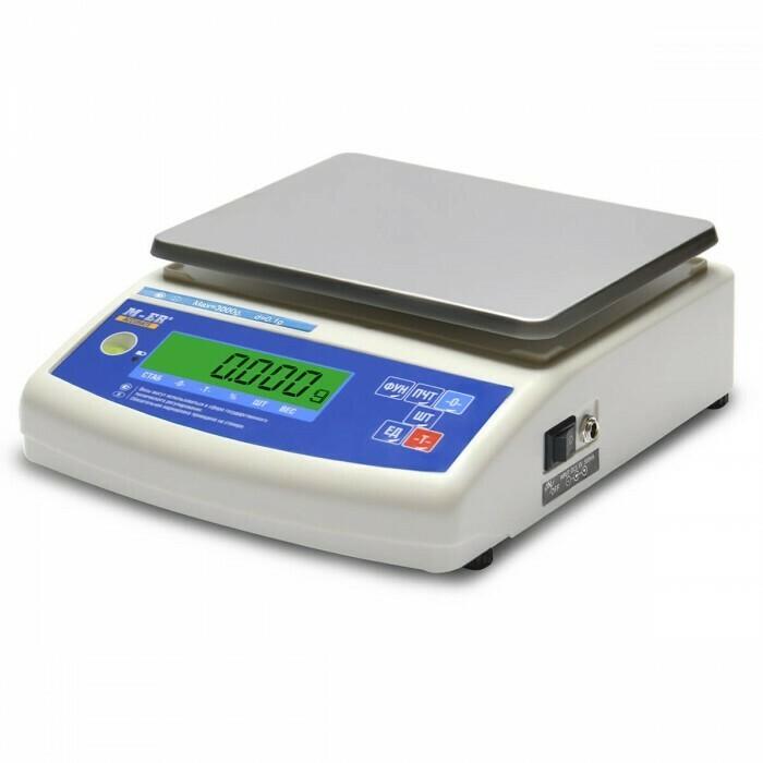 Весы Mertech M-ER 122 АCFJR-150.005  ACCURATE  LСD