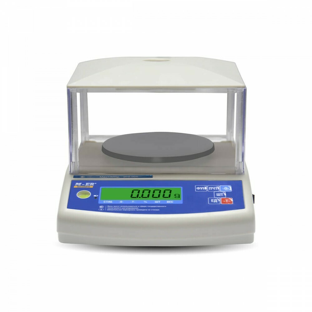Весы Mertech M-ER 122 АCF-3000.1  ACCURATE  LСD
