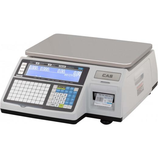 Весы CL-3000-06B (TCP/IP) (120мм этикетка, поворот штрихкода, 10000PLU)