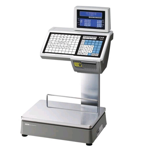 Весы CL-5000-15D (TCP/IP) Еврокорпус на стойке, стандартная этикетка