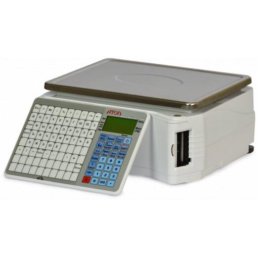Весы с печатью этикеток АТОЛ LS5X (без стойки, лицензия FDU)_с поверкой