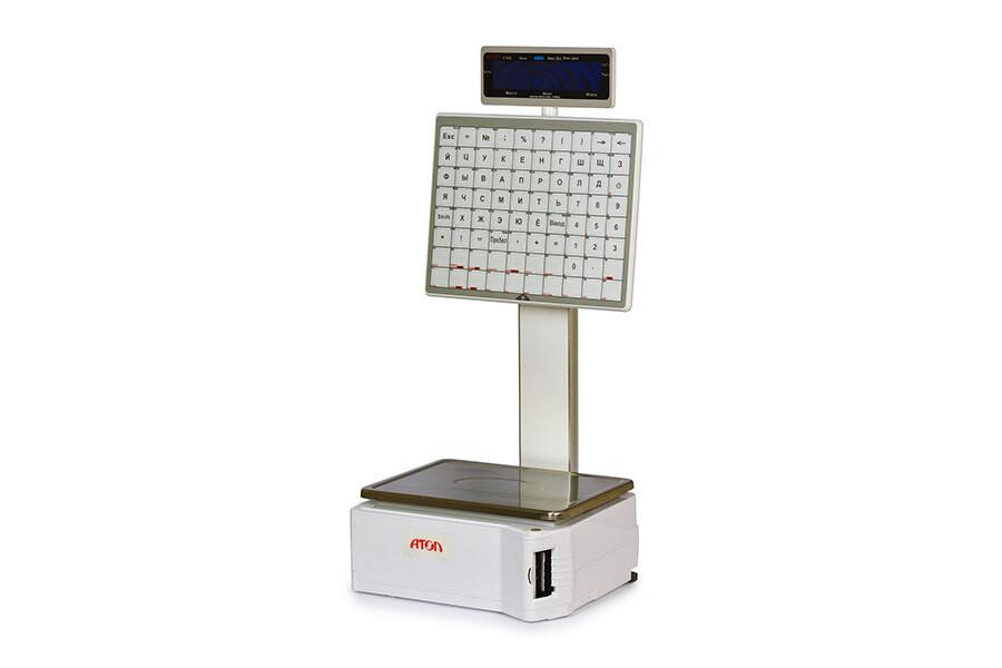 Весы с печатью этикеток АТОЛ LS5X (самообслуживание)