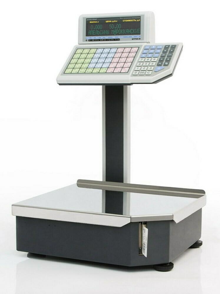Весы с печатью этикеток  ШТРИХ-ПРИНТ  М 15-2.5 Д1И1 (v.4.5) (2Мб) (ГОСТ OIML R76-1-2011)