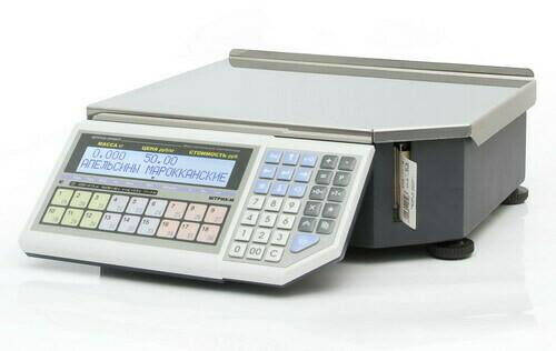 Весы с печатью этикеток  ШТРИХ-ПРИНТ  ФI 15-2.5 Д2И1 (v.4.5) (2Мб) (ГОСТ OIML R76-1-2011)