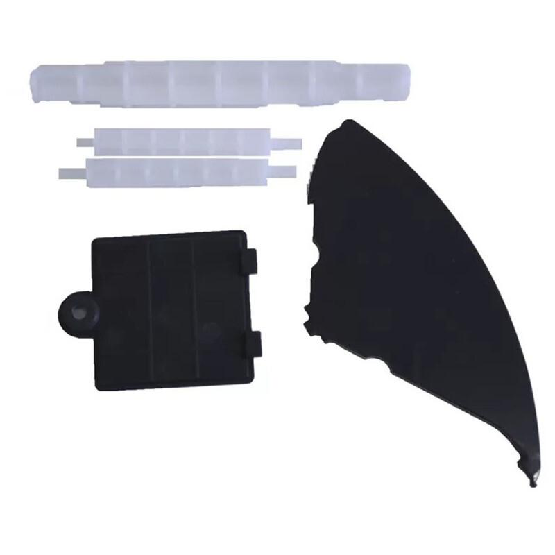 Комплект пластиковых деталей Fprint 22 чёрного цвета без лючка в комплекте