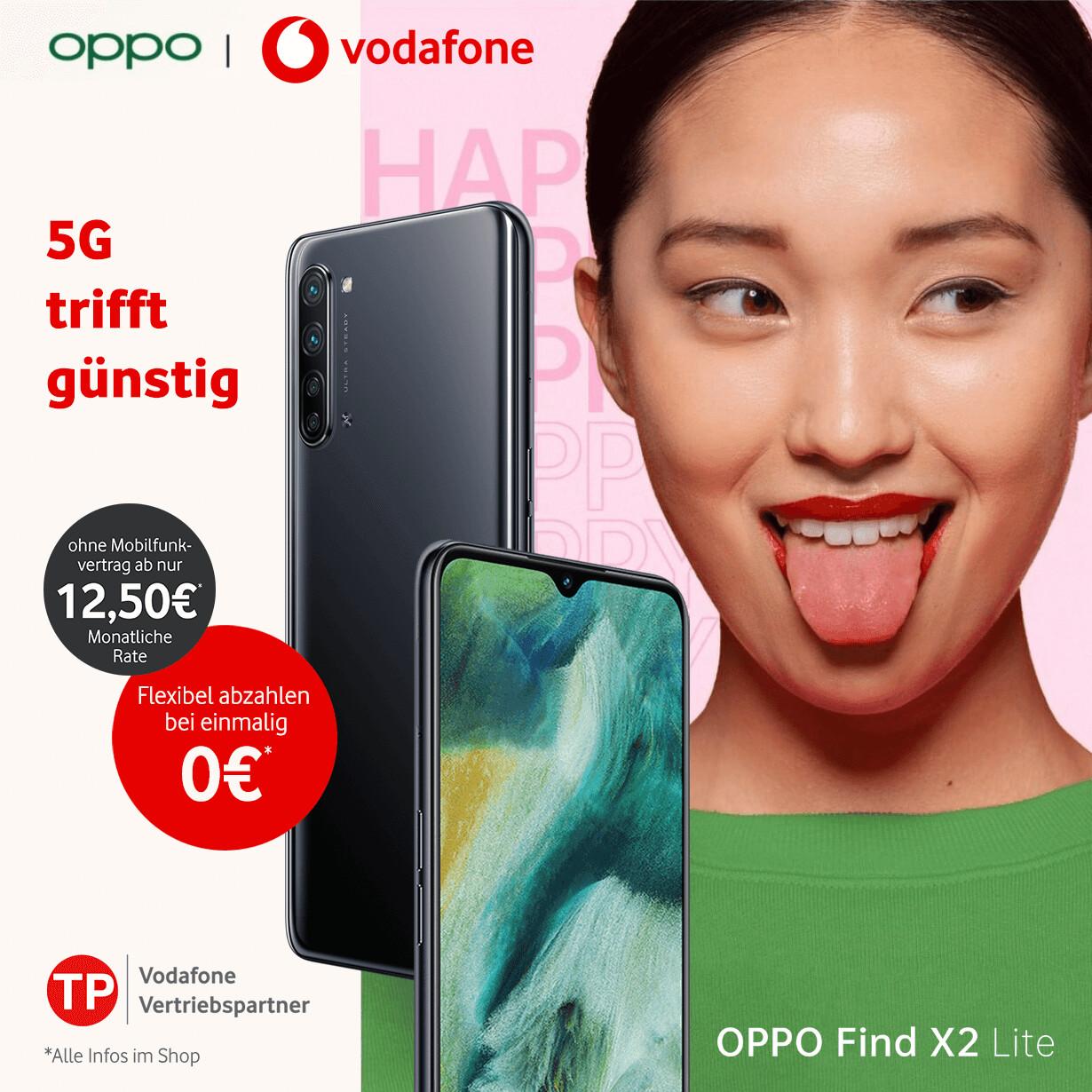 Sale: Das neue Oppo Find X2 lite 5G-Smartphone zum GigaPreis ganz ohne Mobilfunkvertrag
