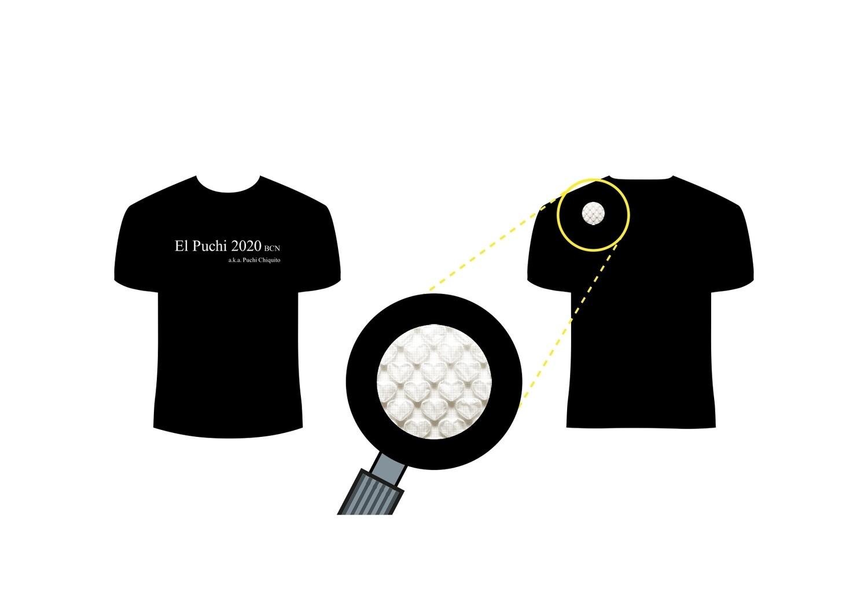 Puchi chiquito original T shirt Black