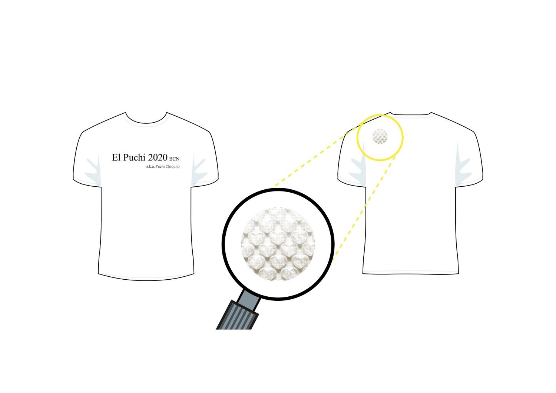 Puchi chiquito original T shirt white