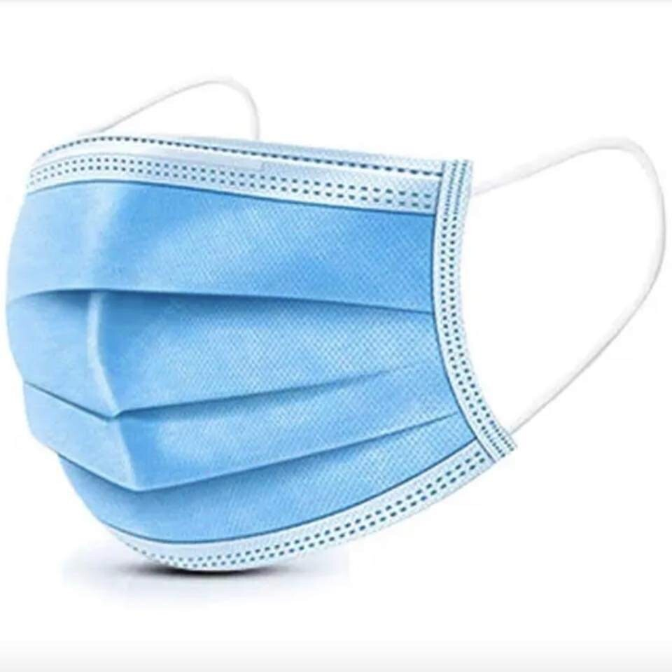 DISPOSABLE 3 Ply FACE Mask ( Pack Of 100 )