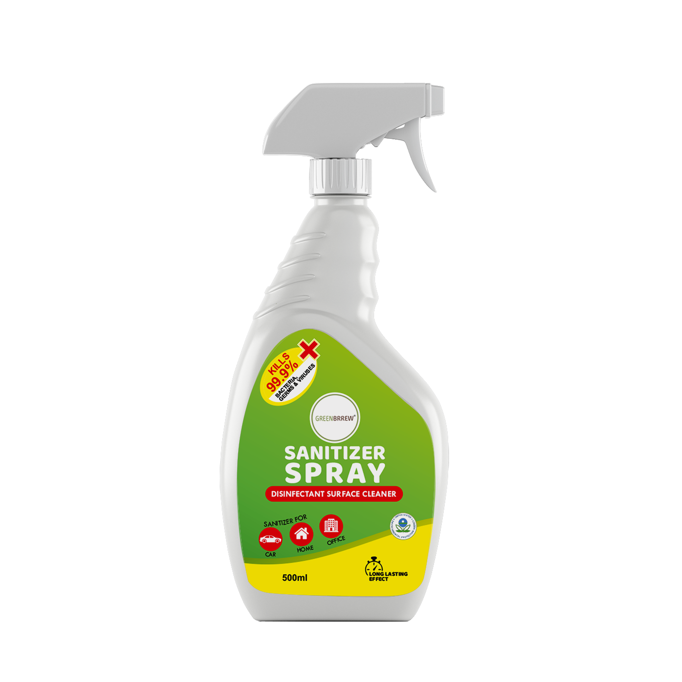 Sanitizer Spray, Disinfectant Surface Cleaner, 500ml