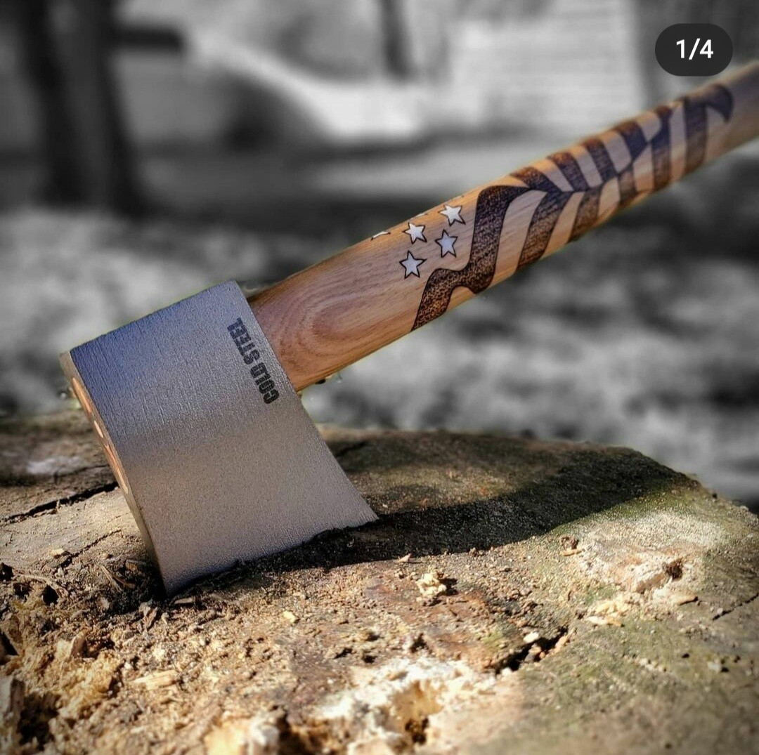 """Freedom"" Cold Steel Throwing Axe"