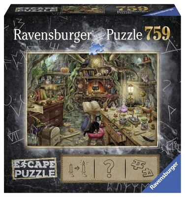 Ravensburger Puzzle - Witch's Kitchen