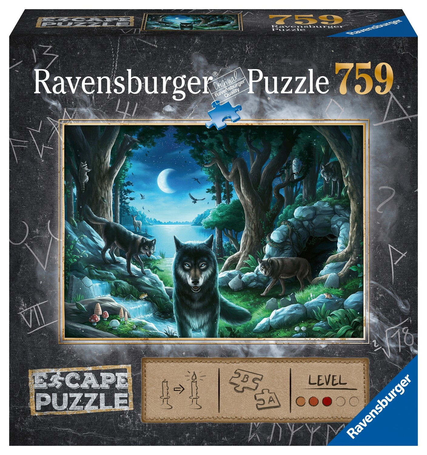 Ravensburger Puzzle - Curse of the Wolves
