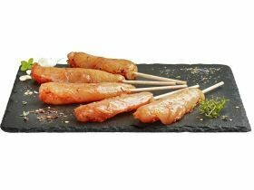 Mini brochettes de filets de poulet