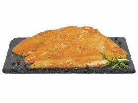 Escalope de poulet marinée