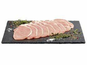 Bifteck de porc Cookies, extra fins 380g