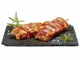 Brochettes de viande au poivre de porc 220-260g