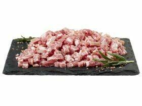 Cubes de bacon fumé Pack famille 300g