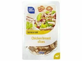 Lanières de filet de poitrine de poulet 150g