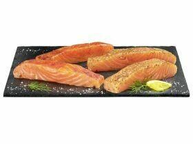 Saumon grillé ASC mariné divers types 250g