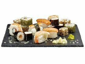 Boîte de famille de sushi 460g