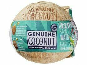 Noix de coco potable biologique