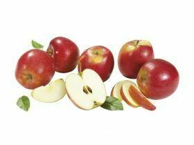 Pommes emballées en rouge 2.5Kg