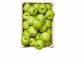 Pommes emballées en vert 2.5Kg